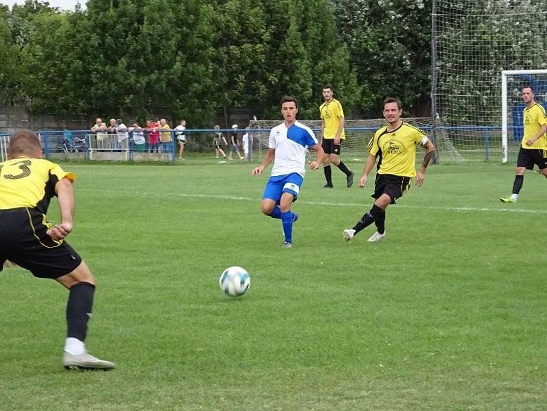 Výsledok zápasu V. ligy:  AC Muźla – Podlužany  5:1