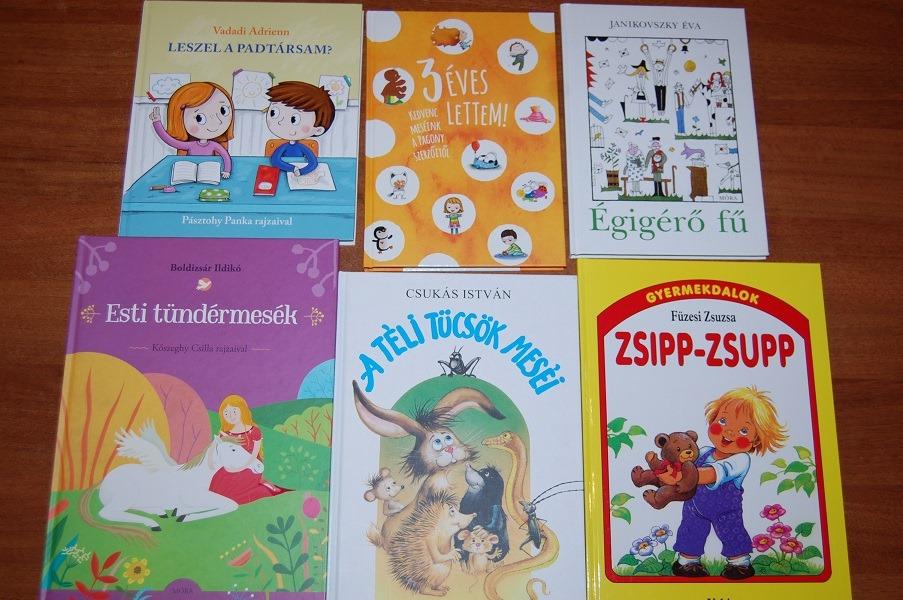 Darované knihy z Nyergesújfalu