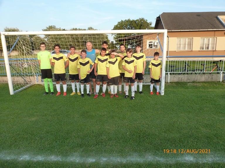 Az U 15-ös csapat sikere Marcelháza ellen