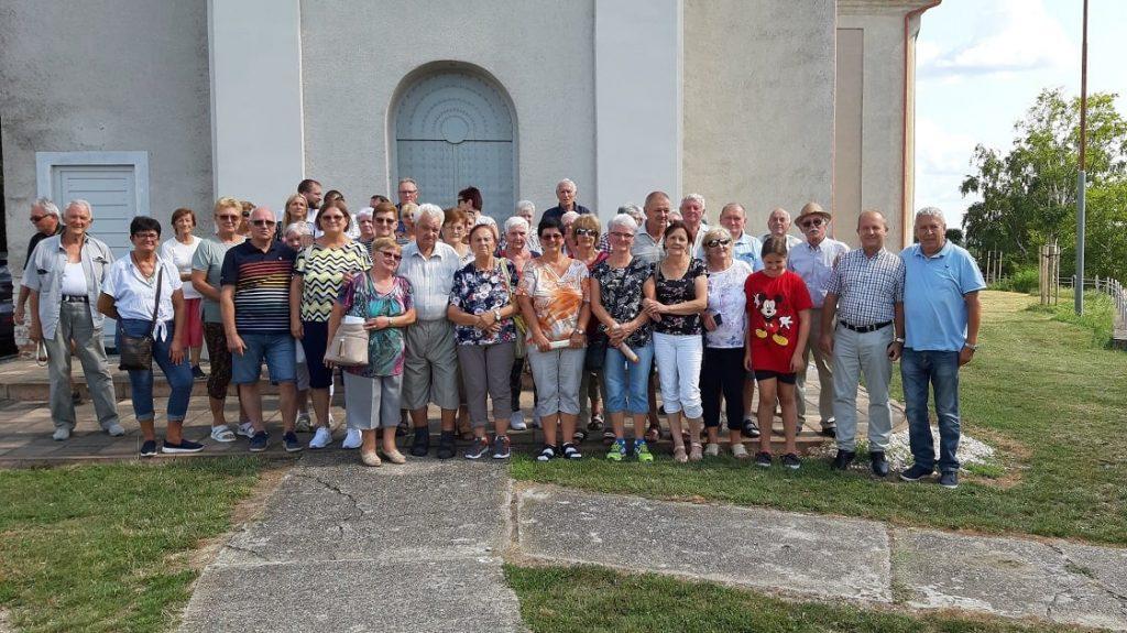 Illésházi vendégeket fogadtunk Muzslán