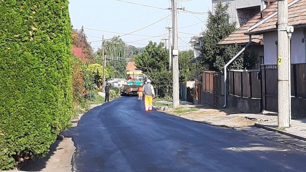 Befejeződött a Felső utca burkolat-felújítása Muzslán